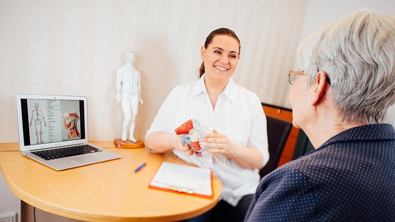 Behandlung bei Dr. Krück und ZÄ Beckmann